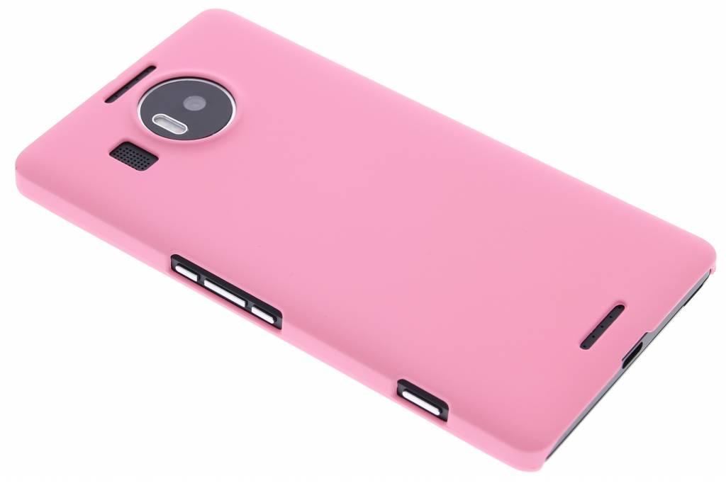 Roze effen hardcase hoesje voor de Microsoft Lumia 950 XL