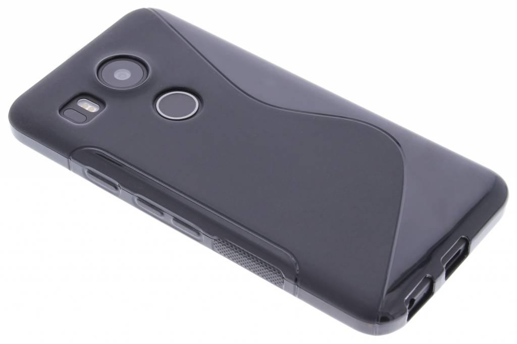 Zwart S-line TPU hoesje voor de LG Nexus 5X