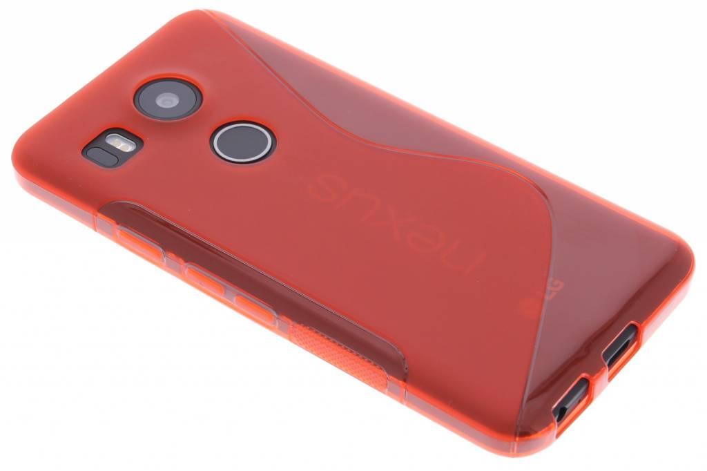 Rood S-line TPU hoesje voor de LG Nexus 5X