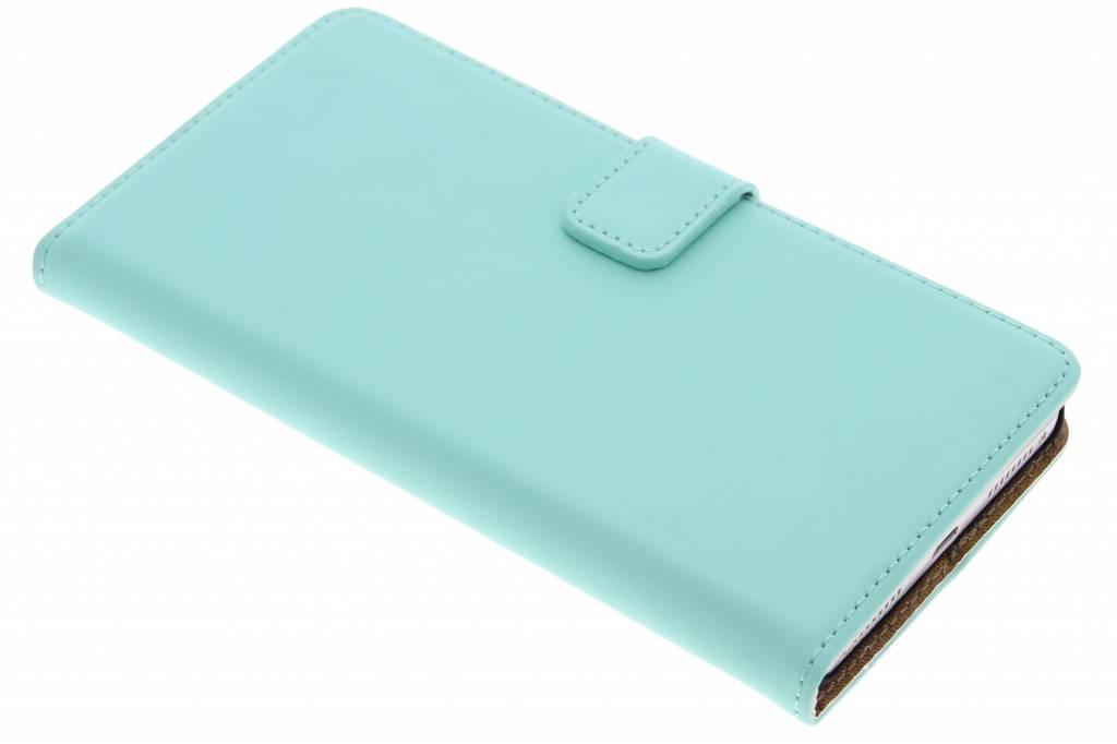 Selencia Luxe Book Case voor de Huawei Mate S - Mintgroen