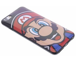 Super Mario Flexible TPU Case iPhone 6(s) Plus - Mario