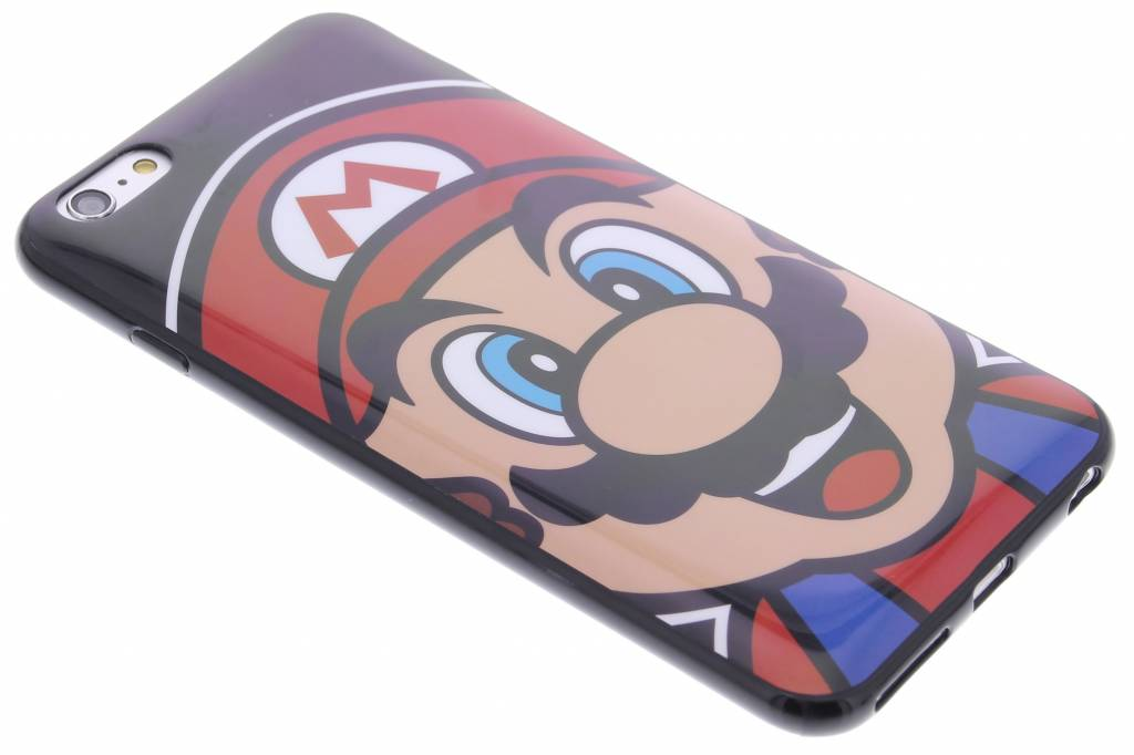 Super Mario Flexible TPU Case voor de iPhone 6(s) Plus - Mario
