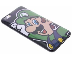 Super Mario Flexible TPU Case iPhone 6(s) Plus - Luigi