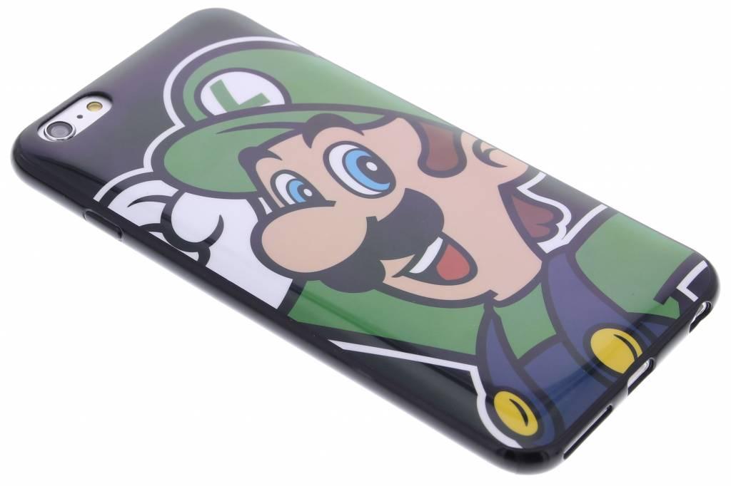 Super Mario Flexible TPU Case voor de iPhone 6(s) Plus - Luigi
