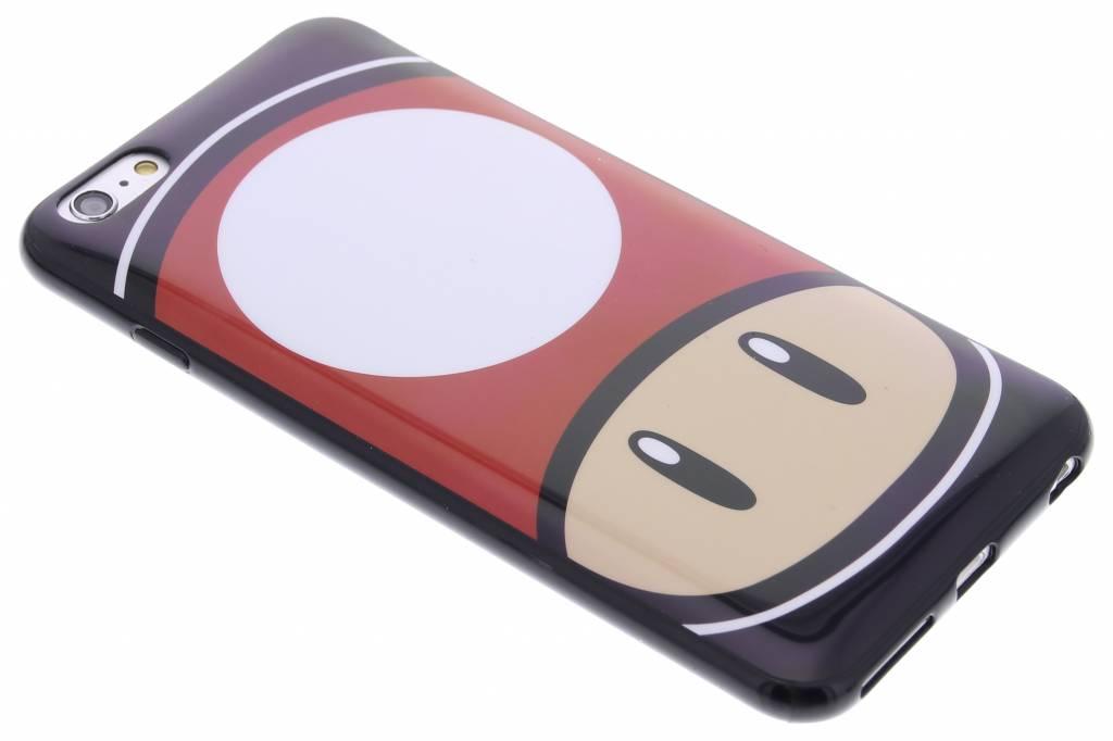 Super Mario Flexible TPU Case voor de iPhone 6(s) Plus - Mushroom