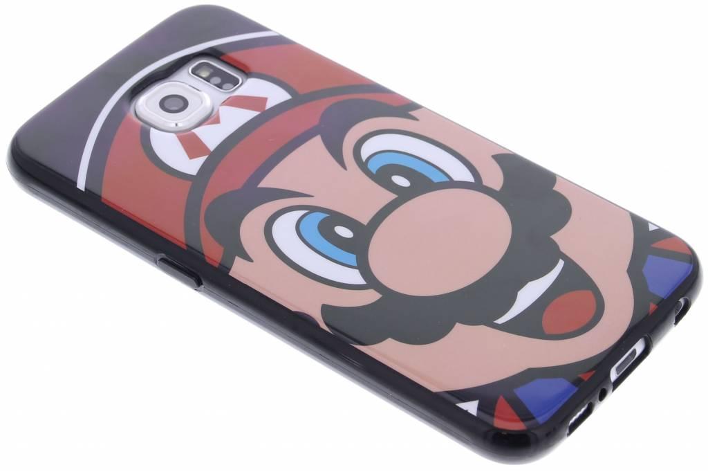 Super Mario Flexible TPU Case voor de Samsung Galaxy S6 - Mario