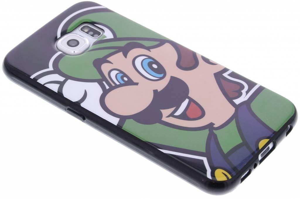 Super Mario Flexible TPU Case voor de Samsung Galaxy S6 - Luigi