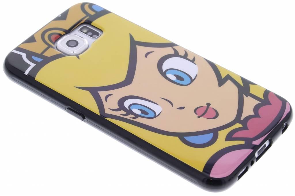 Flexible TPU Case voor de Samsung Galaxy S6 - Peach