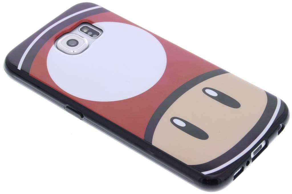 Super Mario Flexible TPU Case voor de Samsung Galaxy S6 - Mushroom