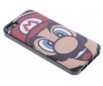 Super Mario Flexible TPU Case iPhone 5 / 5s / SE - Mario