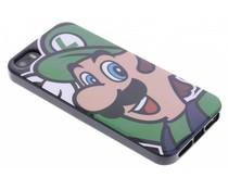 Super Mario Flexible TPU Case iPhone 5 / 5s / SE - Luigi