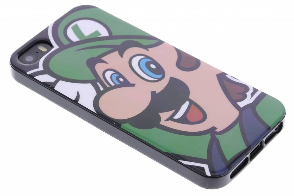 Super Mario Flexible TPU Case voor de iPhone 5 / 5s / SE - Luigi
