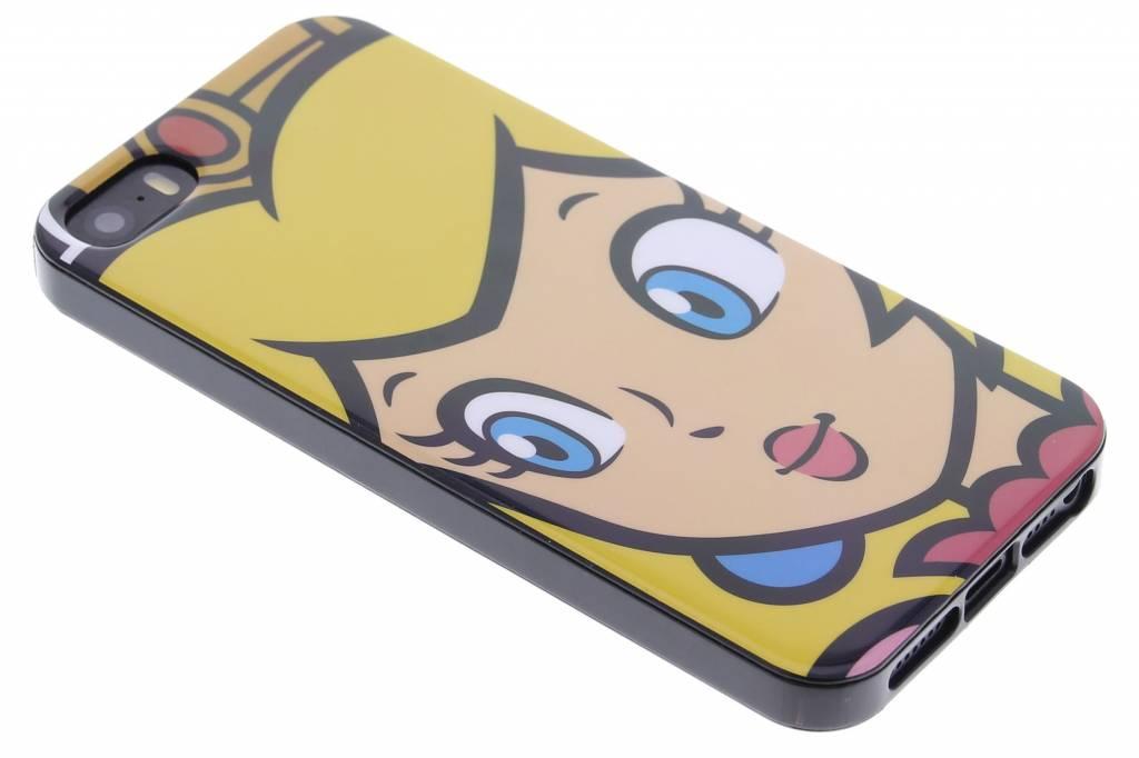Super Mario Flexible TPU Case voor de iPhone 5 / 5s / SE - Peach