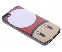 Super Mario Flexible TPU Case iPhone 5 / 5s / SE - Mushroom
