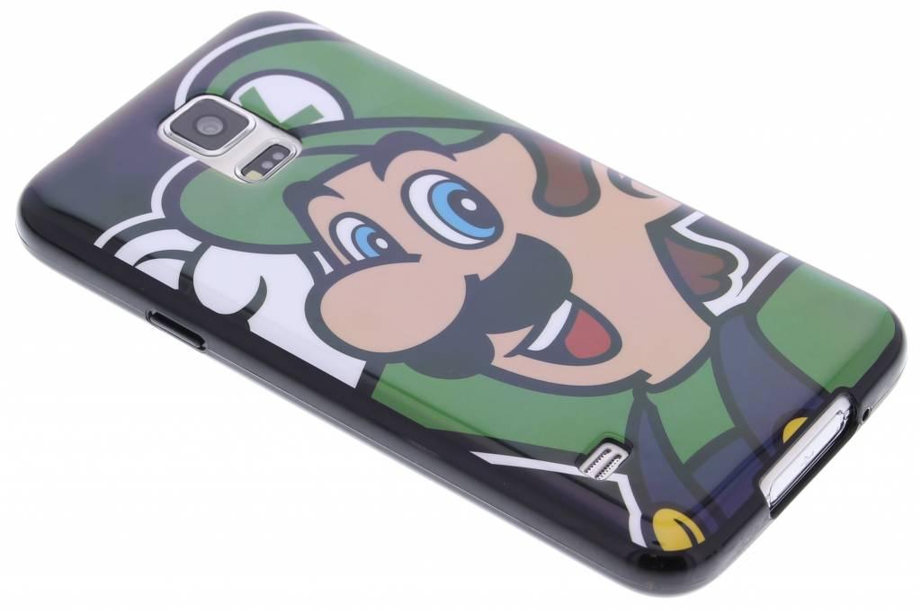 Super Mario Flexible TPU Case voor de Samsung Galaxy S5 (Plus) / Neo - Luigi