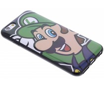 Super Mario Flexible TPU Case iPhone 6 / 6s - Luigi