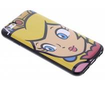 Super Mario Flexible TPU Case iPhone 6 / 6s - Peach