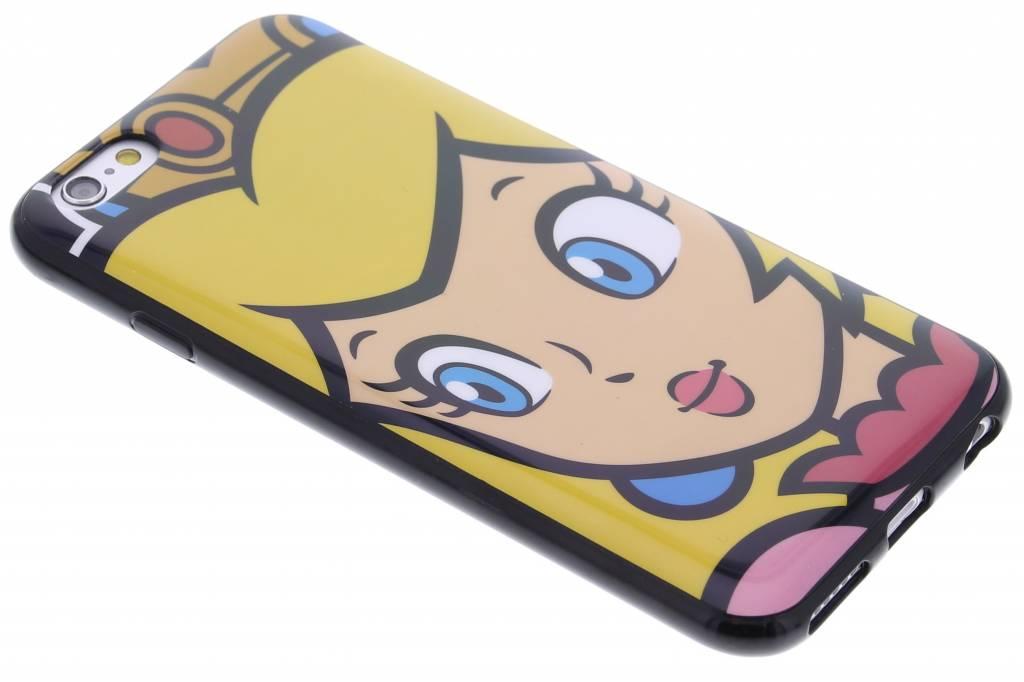 Super Mario Flexible TPU Case voor de iPhone 6 / 6s - Peach