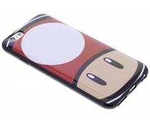 Super Mario Flexible TPU Case iPhone 6 / 6s - Mushroom