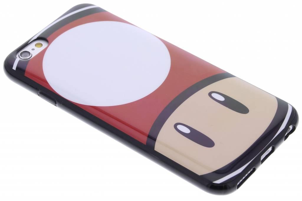 Super Mario Flexible TPU Case voor de iPhone 6 / 6s - Mushroom