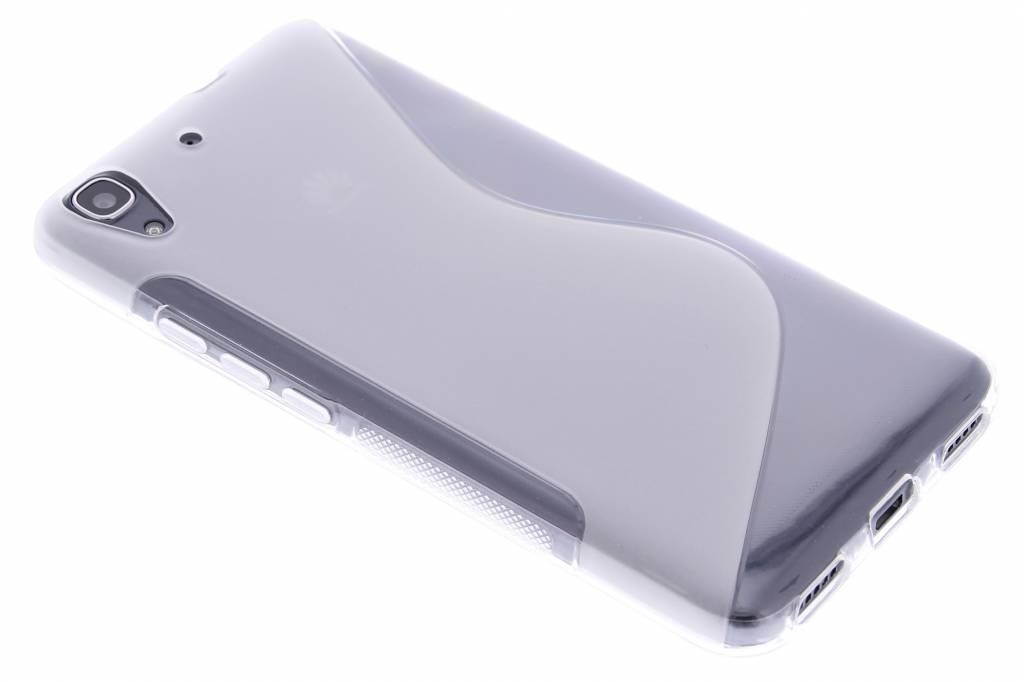 Transparant S-line TPU hoesje voor de Huawei Y6