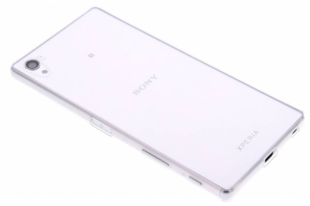 Ultra thin transparant TPU hoesje voor de Sony Xperia Z5 Premium