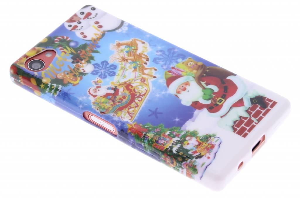 Christmas Edition TPU siliconen hoesje voor de Sony Xperia Z5 Compact