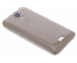 Grijs ultra thin transparant TPU hoesje Huawei Y360