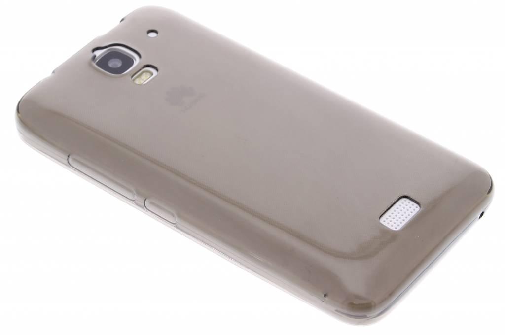 Grijs ultra thin transparant TPU hoesje voor de Huawei Y360