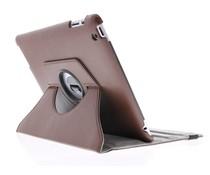 Bruin 360° draaibare hoes iPad 2 / 3 / 4