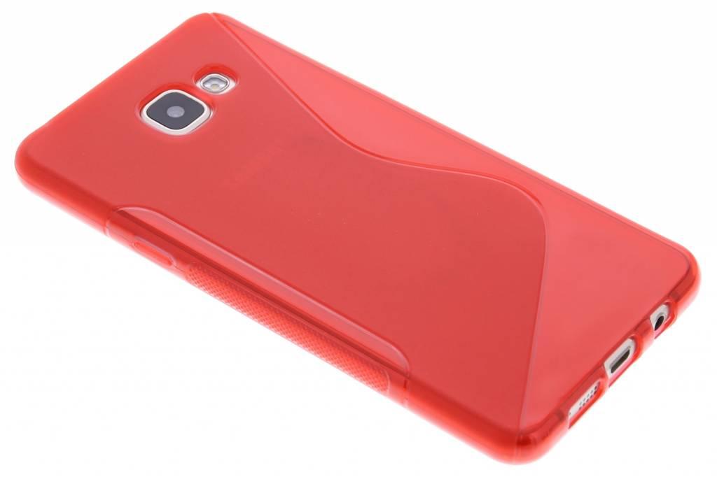 Rood S-line TPU hoesje voor de Samsung Galaxy A5 (2016)