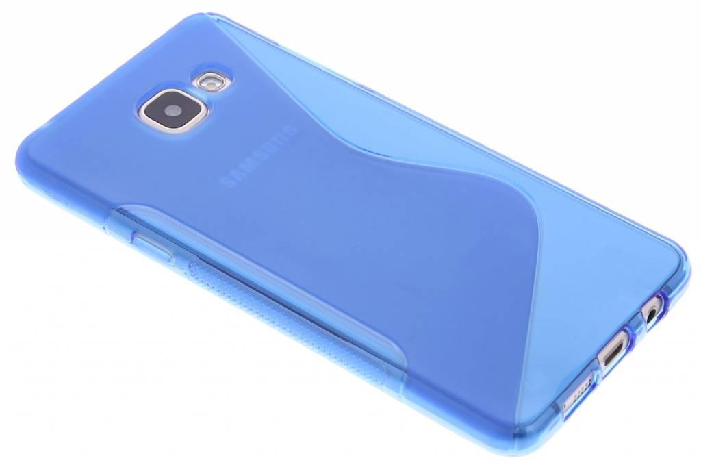 Blauw S-line TPU hoesje voor de Samsung Galaxy A5 (2016)