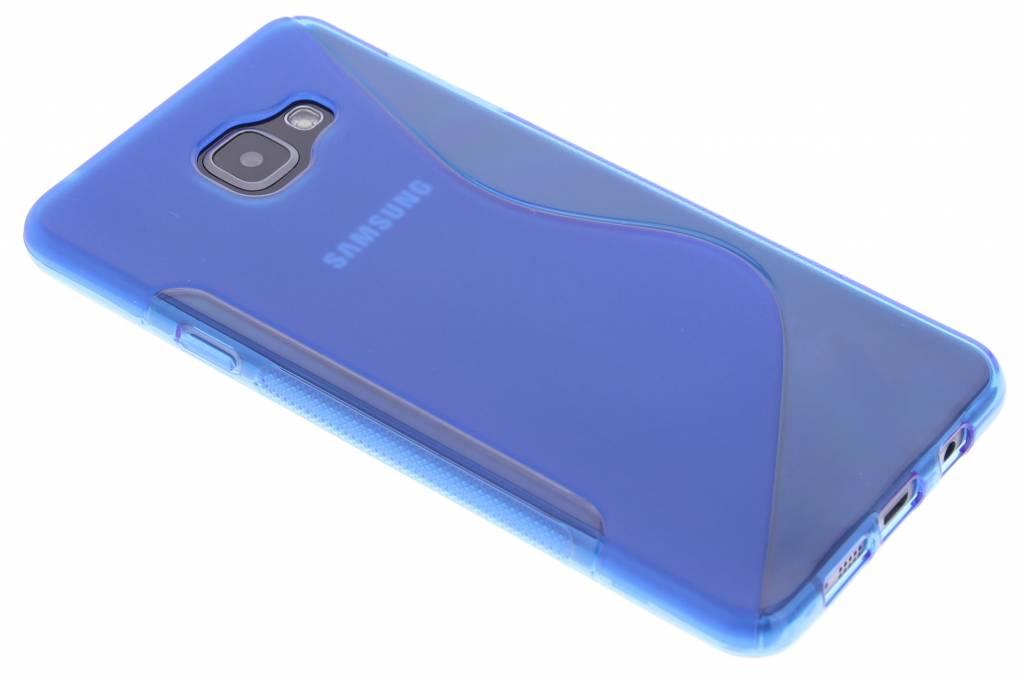 Blauw S-line TPU hoesje voor de Samsung Galaxy A7 (2016)