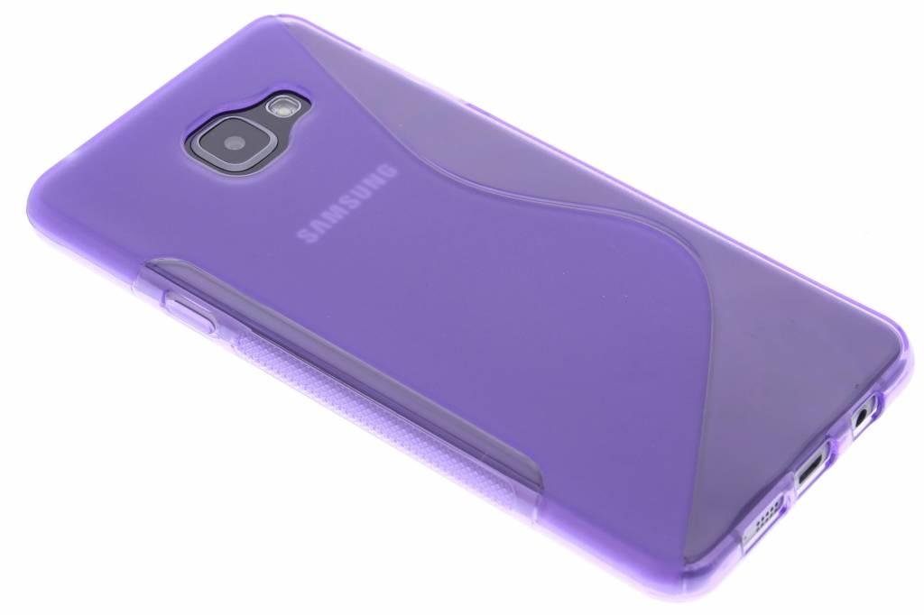Paars S-line TPU hoesje voor de Samsung Galaxy A7 (2016)