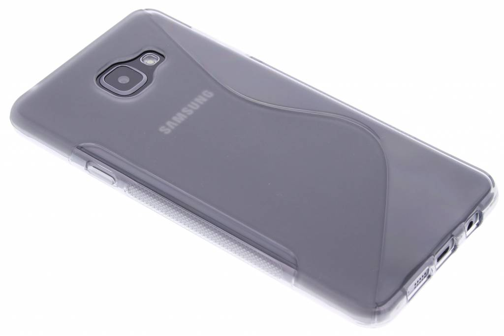 Grijs S-line TPU hoesje voor de Samsung Galaxy A7 (2016)