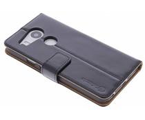 Selencia Luxe lederen Booktype LG Nexus 5X – Zwart