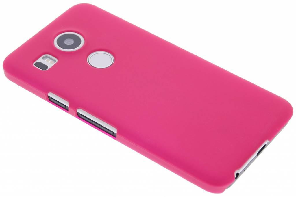 Fuchsia effen hardcase hoesje voor de LG Nexus 5X