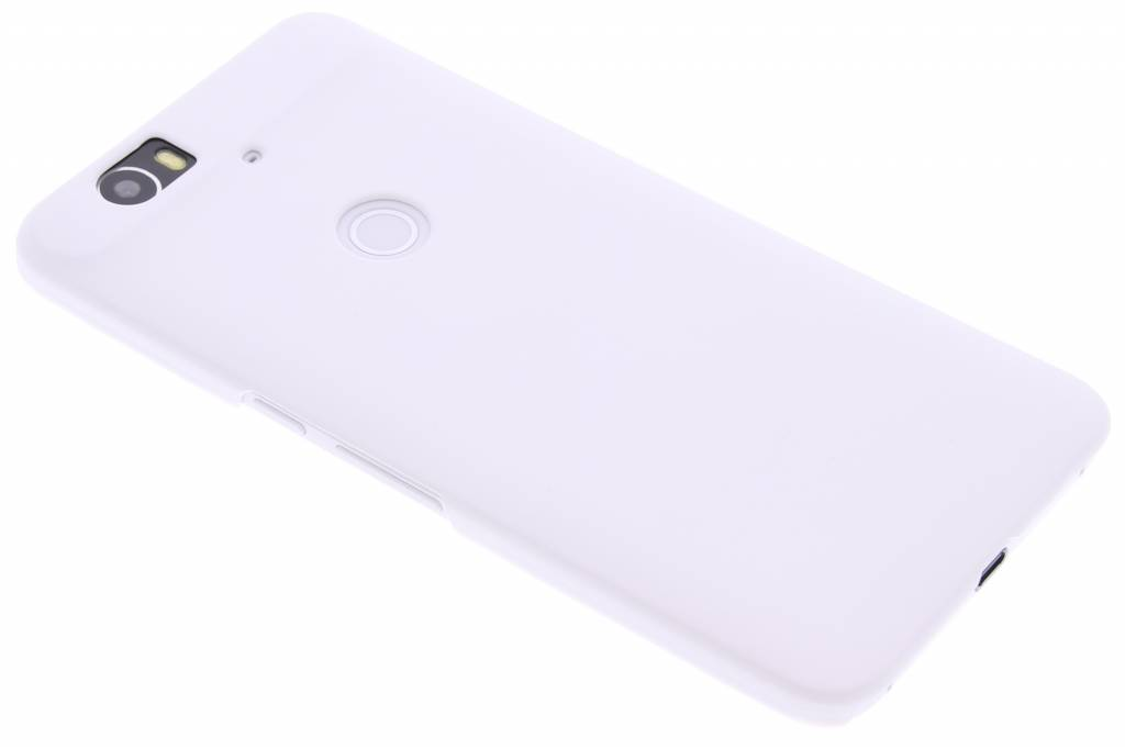 Wit effen hardcase hoesje voor de Huawei Nexus 6P