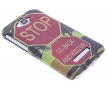 Design hardcase hoesje Alcatel One Touch Pop C7