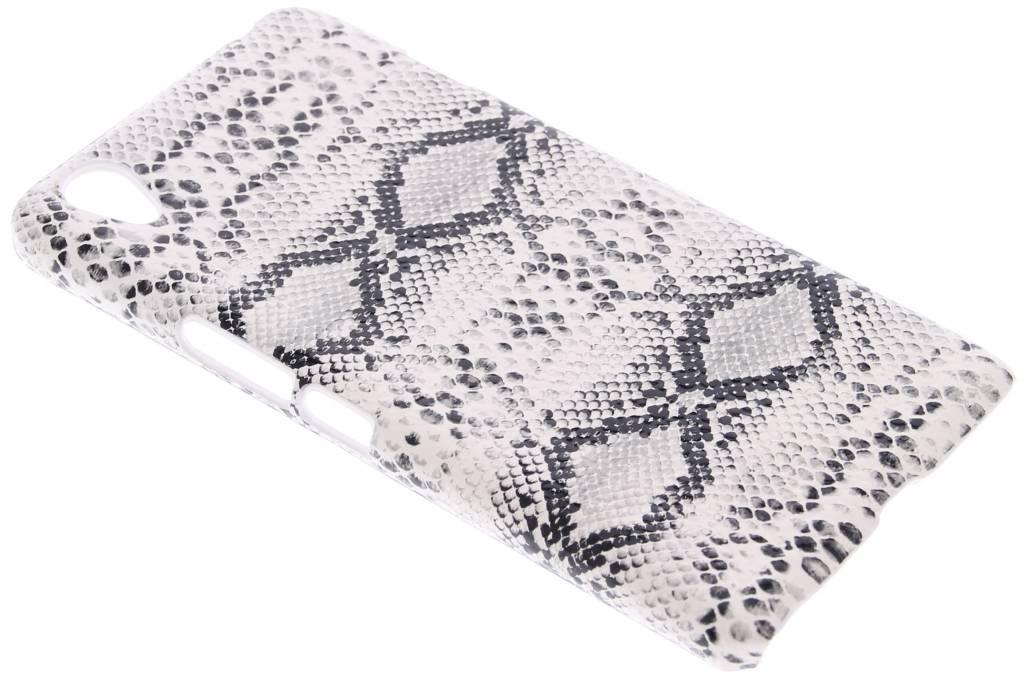 Wit slangen design hardcase hoesje voor de OnePlus X