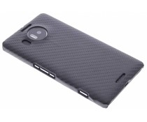 Carbon look hardcase hoesje Microsoft Lumia 950 XL