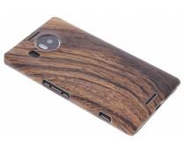 Hout design hardcase hoesje Microsoft Lumia 950 XL