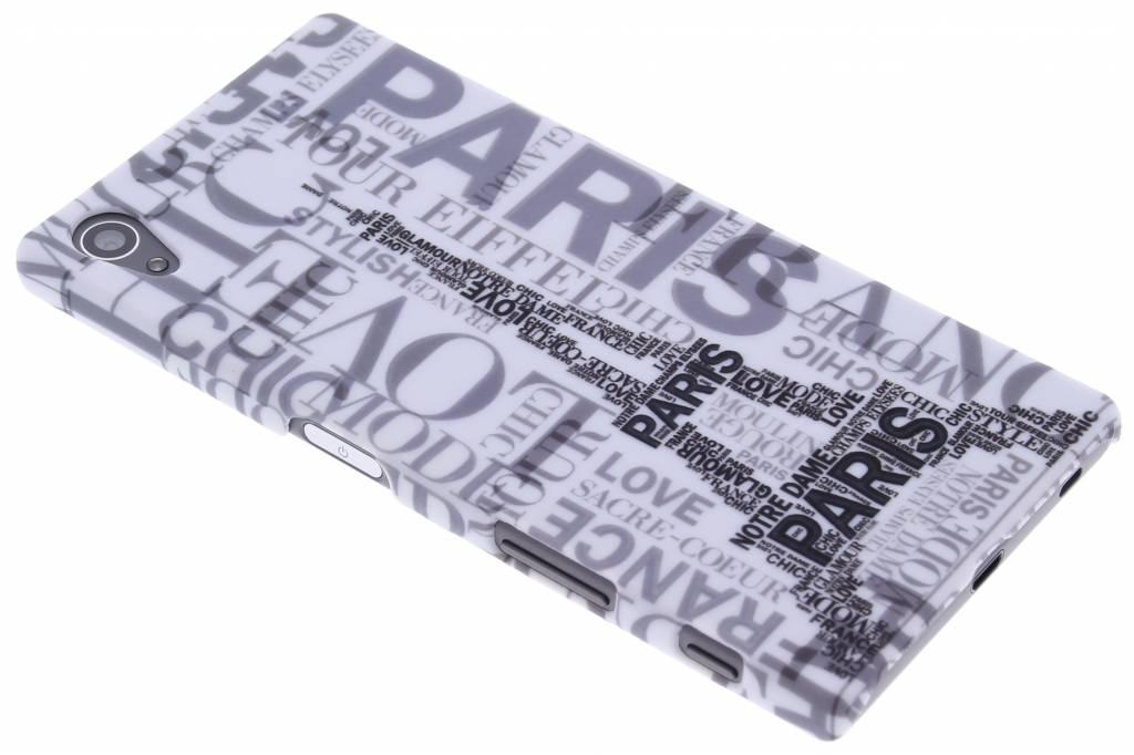 Parijs design hardcase hoesje voor de Sony Xperia Z5