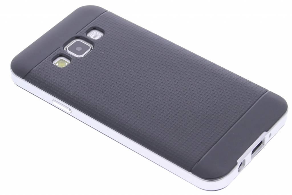 Zilveren TPU Protect case voor de Samsung Galaxy A3