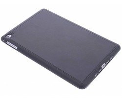 Zwart lederen TPU tablethoes iPad Mini 4