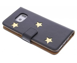 Fab. Gold Reversed Star Booktype Galaxy S6 Edge Plus