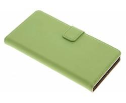 Selencia Luxe Book Case Sony Xperia Z5 - Groen