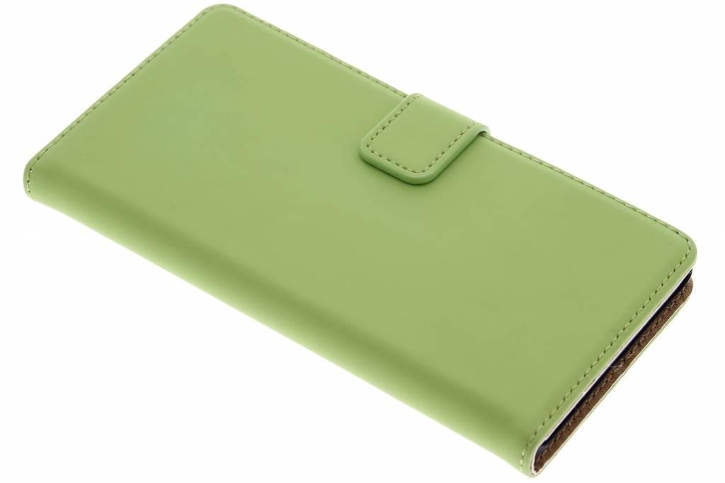 Selencia Luxe Book Case voor de Sony Xperia Z5 - Groen