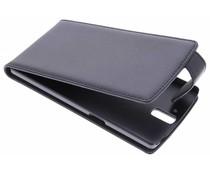 Zwart stijlvolle flipcase OnePlus One