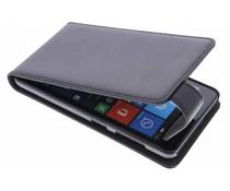 Zwart stijlvolle flipcase Microsoft Lumia 535